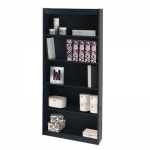 Bestar Standard bookcase in Charcoal