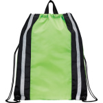 Reflective Drawstring Cinch Backpack