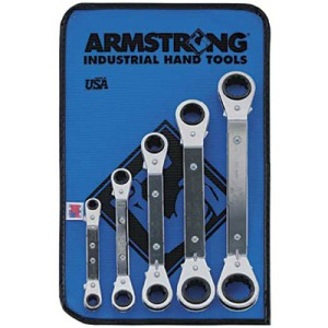 Armstrong Tools Ratcheting Box Wrench Sets - 27-635