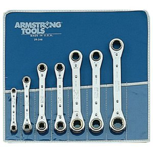 Armstrong Tools Metric Ratcheting Box Wrench Sets - 54-608