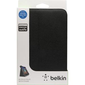 """Belkin Bi-Fold Carrying Case (Folio) for 7"""" Tablet PC - Black"""