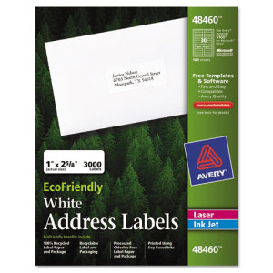 Avery EcoFriendly Labels at Sears.com
