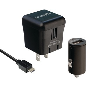 DIGIPOWER PD-PK1BB BlackBerry PlayBook Tablet Charger Kit