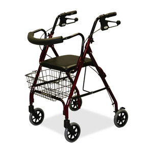 Medline MDS86810 Rollator Walker