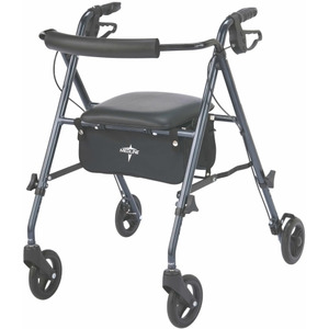Medline MDS86825SLB Rollator Walker