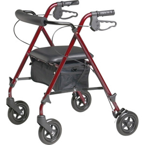 Medline MDS86825SLR Rollator Walker