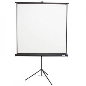Hamilton Buhl 70x70 TPS-T70/BLK - Value Line - Square Format Projector Screen - Black Housing at Sears.com