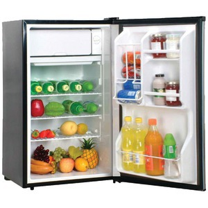 MAGIC CHEF MCBR360S 3.6 Cubic-ft Refrigerator (Stainless) at Sears.com