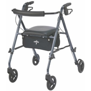 Medline Freedom Ultralight Rollators,Blue