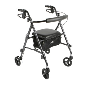 Medline Freedom Ultralight Rollators,Titanium