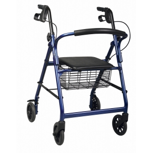 Medline Basic Rollators,Burgundy