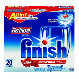 Reckitt Benckiser FINISH - POWERBALL Tab - Fresh Scent 20 ct. at Sears.com
