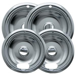 Range Kleen CHROME DRIP PAN A 2SM 2LG