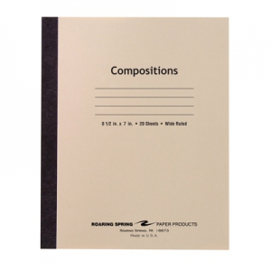 Roaring Spring Stitched Composition Book