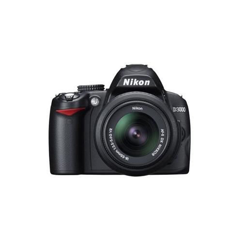 Nikon D3000 Digital SLR Camera 10.2 Megapixel
