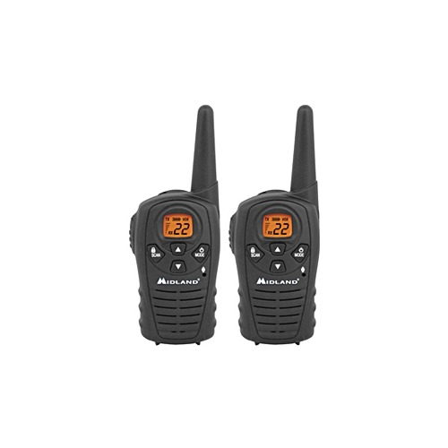 Midland LXT114 Two Way Radio 7 GMRS, 7 FRS, 8 GMRS/FRS - LXT114
