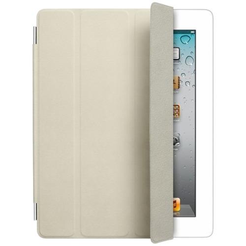 Apple iPad Smart Cover - Leather - Cream