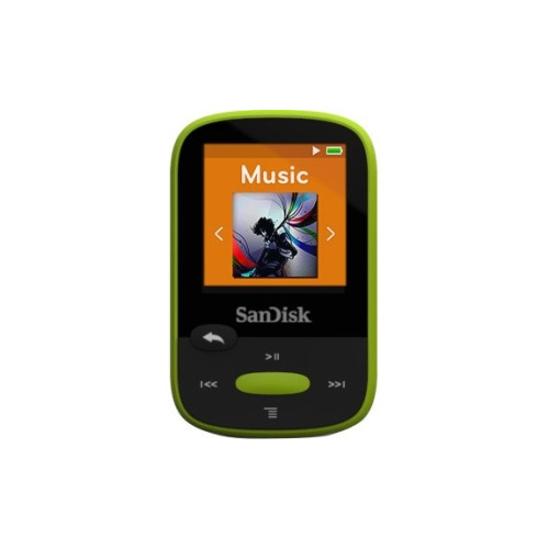 SanDisk Clip Sport SDMX24-008G 8 GB Flash MP3 Player - Lime