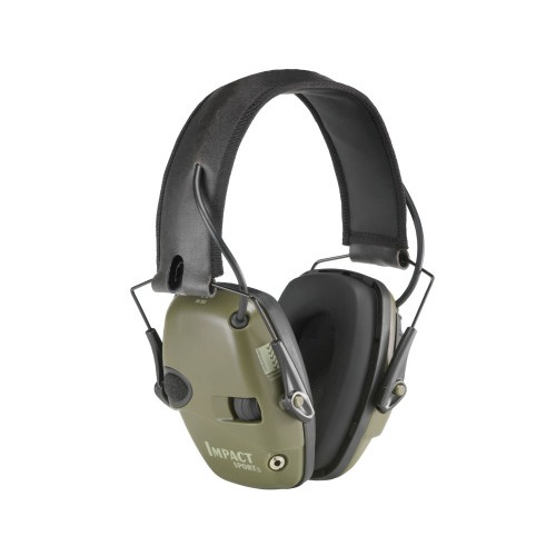 Howard Leight Impact Sport Electronic Earmuff, Folding