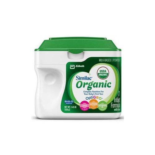 Similac Advance Organic with Iron 1.45 lb.