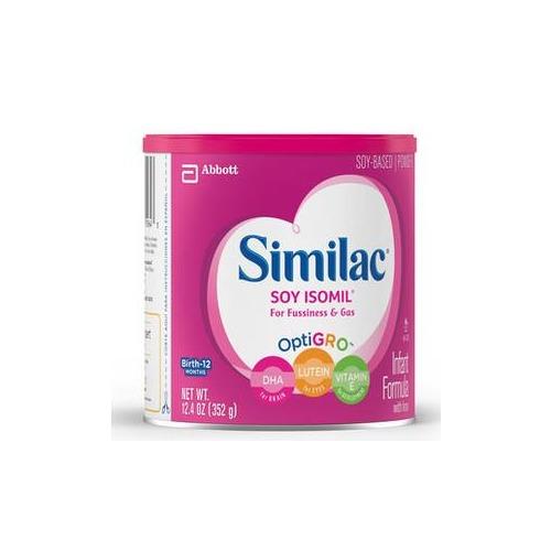Similac Soy Isomil w/Iron, 12.4 oz.