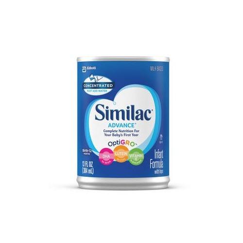 Similac Advance w/Iron Concentrate Retail 13oz.