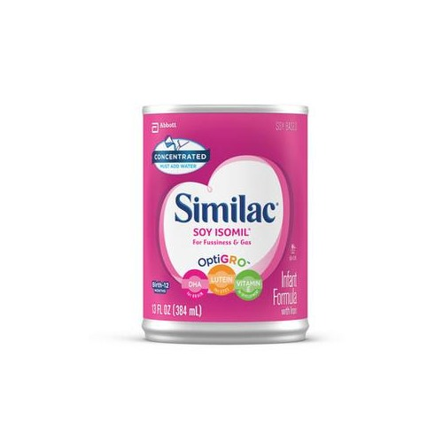 Similac Soy Isomil w/OptiGRO, 13 oz. Can