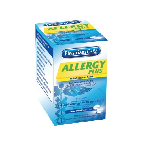 First Aid Only PhysiciansCare Allergy Medications -