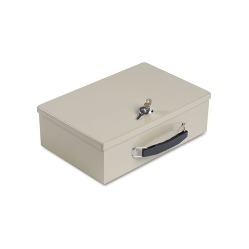 Heavy-Duty Steel Fire-Retardant Security Cash Box