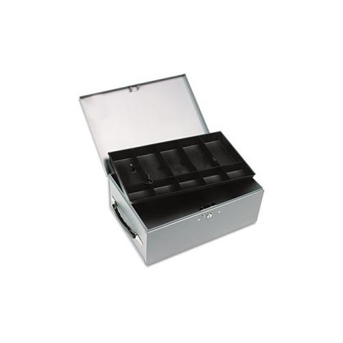 Jumbo Steel Cash & Security Box w/10