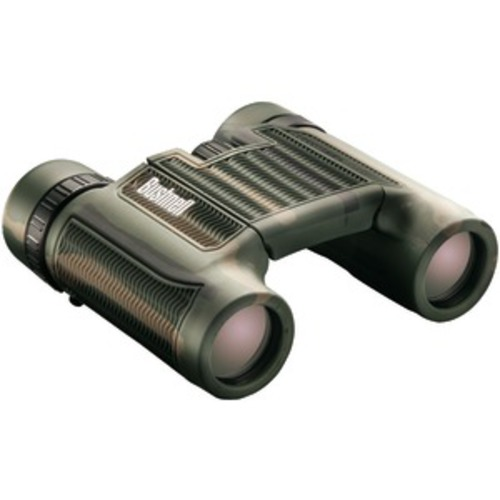 BUSHNELL 130106 H2O Roof Prism Compact Foldable Binoculars (10 x 25mm; Camo)