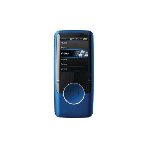 Coby MP620 4GB Blue Flash Portable Media Player - Audio Player, Video Player, Photo Viewer, FM Tuner - 1.8