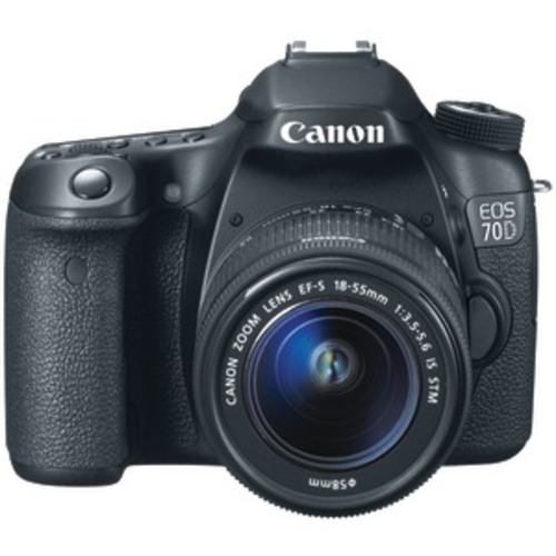 CANON 8469B016 20.2 Megapixel EOS 70D Digital SLR Camera Kit (With 18135mm IS STM Zoom)