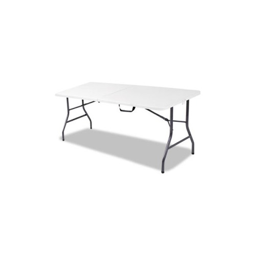 cosco 6 foot bifold resin folding table ebay. Black Bedroom Furniture Sets. Home Design Ideas