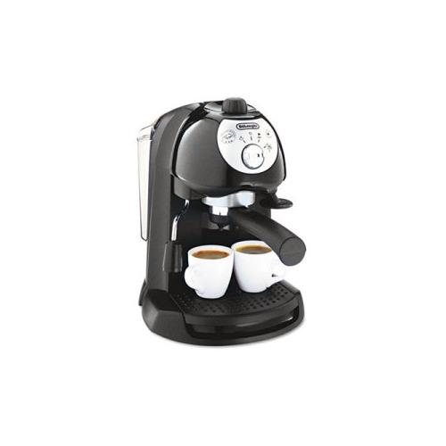 DeLonghi Espresso Machines Bail out Driven Espresso/Cappuccino Maker Black BAR32