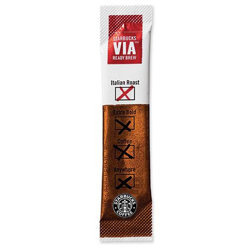 Starbucks 702501 Via Italian Rest - Pack of 3