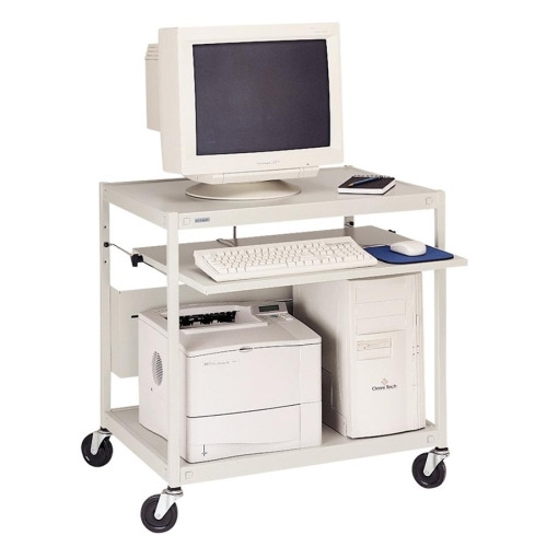 Lorell Computer Workstation Cart