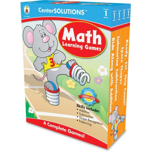 CenterSOLUTIONS Math Learning Games Board Game