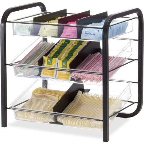 OFFICEMATE 28008 Condiment Organizer,11-13/64 in. D