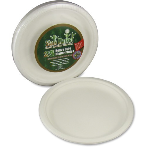 StalkMarket AseanSugarcane Fiber Disposable Plates