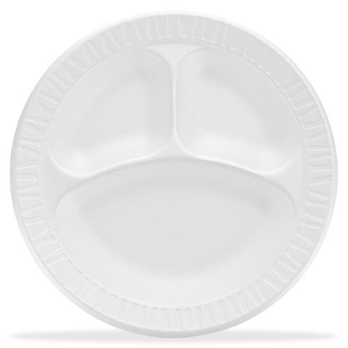 Dart Unlaminated Foam Compartment Plates