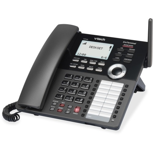 VTech ErisTerminal VSP608 IP Phone - Wireless - DECT - Desktop