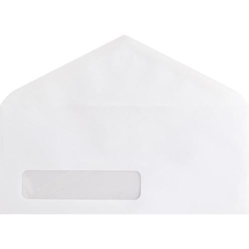 Business Source No. 10 V-Flap Window Envelopes