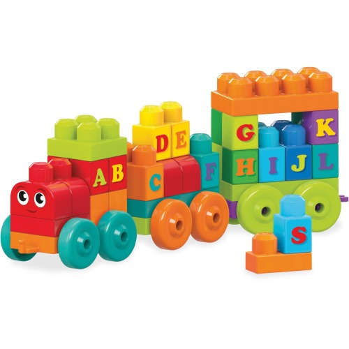 Mega Bloks ABC Learning Train Play Set