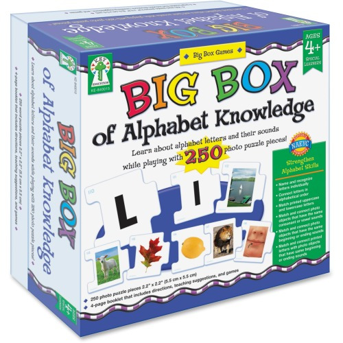 Carson-Dellosa Big Box of Alphabet Knowledge Board