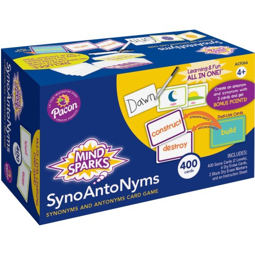 Mind Sparks SynoAntoNym Card Game