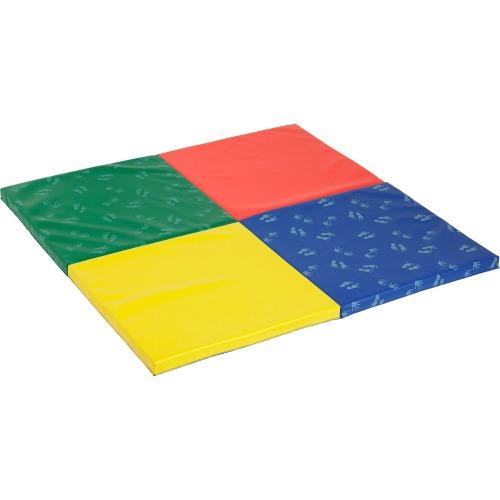 ECR4KIDS Hands n Feet 2-fold Play Mat