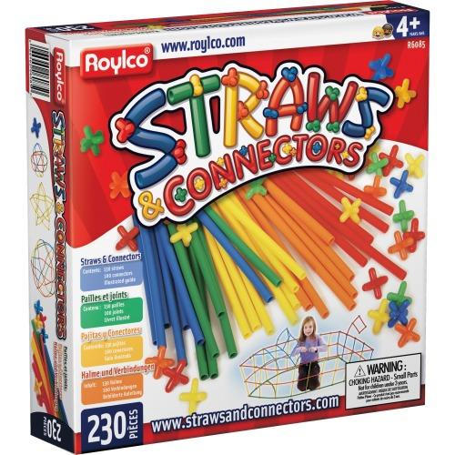 Roylco Straws & Connectors Building Set