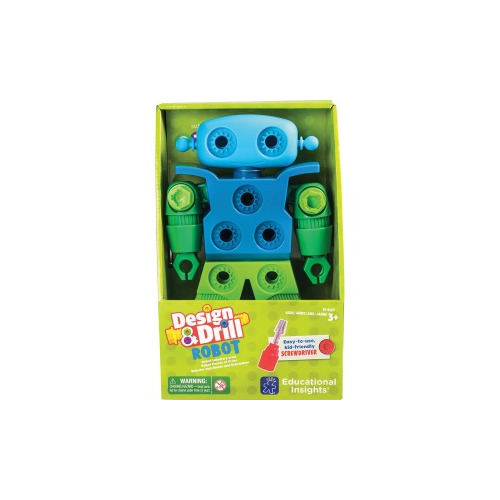 Educational Insights Design & Drill Robot Play