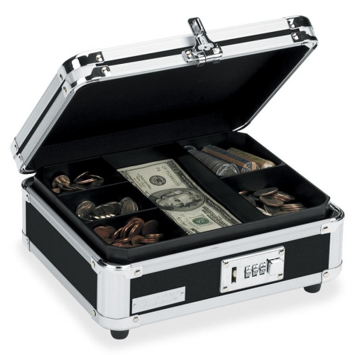 Vaultz Locking Cash Box
